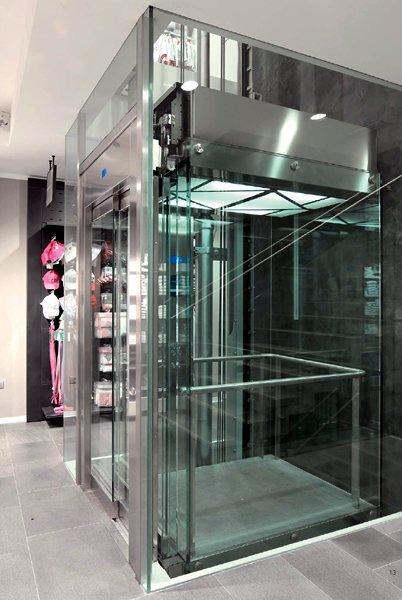 Pierazzoli f lli ascensori discovery ascensori panoramici - Ascensori per interni ...